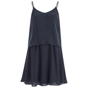 VILA Women's Sora Summer Dress - Total Eclipse
