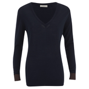 Paul by Paul Smith Women's Basic V Neck Jumper - Navy