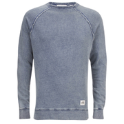 Cheap Monday Men's Rules Denim Sweatshirt - Stone Blue