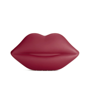 Lulu Guinness Women's Powder Coated Lips Clutch - Red