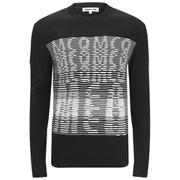 McQ Alexander McQueen Men's Logo Jacquard Crew Neck Jumper - Darkest Black