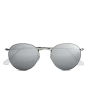 Ray-Ban Round Metal Sunglasses - Matte Silver