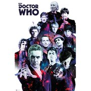 Doctor Who Cosmos - 24 x 36 Inches Maxi Frame