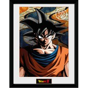 Dragon Ball Z Goku - 16 x 12 Inches Framed Photographic