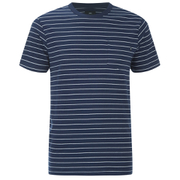 OBEY Clothing Men's Group Pocket T-Shirt - Navy/White