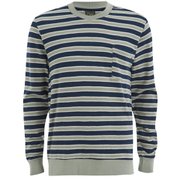 OBEY Clothing Men's Cypress Park Crew Sweatshirt - Navy/Green