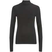 Selected Femme Women's Melissa Turtleneck Jumper - Black