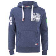 Superdry Men's Tri Trek Hoody - Blue Jaspe