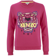 KENZO Women's The Classic Tiger Sweatshirt - Fuchsia