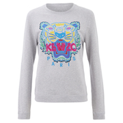 KENZO Women's The Classic Tiger Sweatshirt - Light Grey