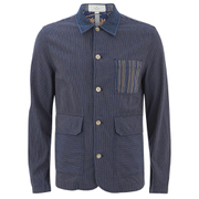 Paul Smith Red Ear Men's Work Wear Jacket - Indigo