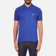 Lacoste Men's Short Sleeve Pique Polo Shirt - Delta Blue