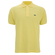 Lacoste Men's Short Sleeve Pique Polo Shirt - Yellow