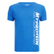 Myprotein Mens Tag T-Shirt - Blue