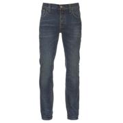 Nudie Jeans Men's Grim Tim Slim Straight Jeans - Worn Deep