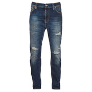 Nudie Jeans Men's Brute Knut Tapered Cropped Jeans - Blue Reed