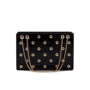REDValentino Women's Eyelet Shoulder Bag - Black