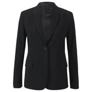 Helmut Lang Women's Lapel Seam Detail Blazer - Black