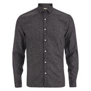 Oliver Spencer Men's Clerkenwell Long Sleeve Shirt - Osterley Charcoal