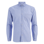 Oliver Spencer Men's Eton Collar Long Sleeve Shirt - Lancaster Blue