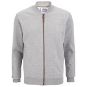 Smith & Jones Men's Brewer Zipped Sweatshirt - Mid Grey Marl