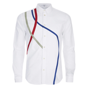 Carven Men's Small Collar Shirt - Sky