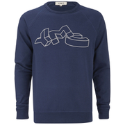 YMC Men's Flock YMC Sweatshirt - Navy