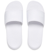 Puma Popcat Slide Sandals - Triple White