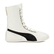 Puma Women's Eskiva Hi Lace-Up Trainers - White/Black