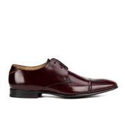 Paul Smith Shoes Men's Robin Leather Toe Cap Derby Shoes - Cordovan