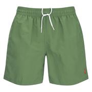 Polo Ralph Lauren Men's Hawaiian Swim Shorts - Military Green
