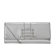 Versus Versace Women's Water Snake Clutch Bag - Silver