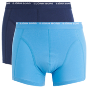 Bjorn Borg Men's Twin Pack Boxers - Medieval Blue