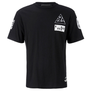 Alexander Wang Men's Etching Scanner Short Sleeve T-Shirt - Black/White