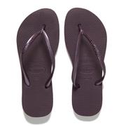 Havaianas Women's Slim Flips Flops - Aubergine