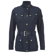 Barbour International Women's Broton Belted Casual Jacket - Navy