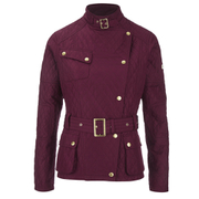 Barbour International Women's Hairpin Quilted Jacket - Cherry