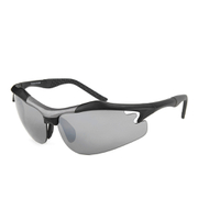 Evolution Pursuit Sports Sunglasses - Black/Grey