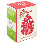 t+ Boost Tea - Raspberry and Pomegranate