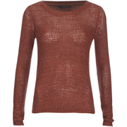 ONLY Women's Geena Pullover Knit Jumper - Marsala