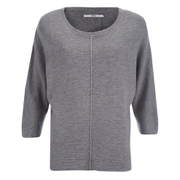 ONLY Women's Tessa Oversize Knitted Pullover - Light Grey Melange