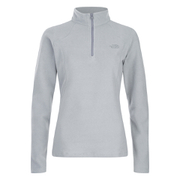 The North Face Women's Glacier Quarter Zip Fleece - TNF Light Grey Heather