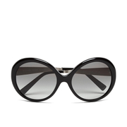 MICHAEL MICHAEL KORS Women's Willa Large Round Sunglasses - Black