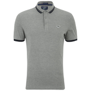 Le Shark Men's Stibbington Pique Polo Shirt - Light Grey Marl