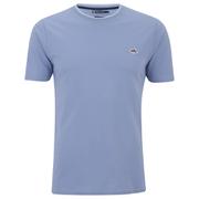 Le Shark Men's Horace Crew Neck Pique T-Shirt - Placid Blue