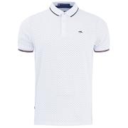 Le Shark Men's Brushwood Pique Polo Shirt - Optic White