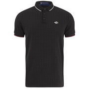 Le Shark Men's Brushwood Pique Polo Shirt - Black