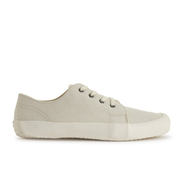 YMC Men's Lace Up Trainers - Cream