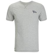 Tokyo Laundry Men's Essential Crew T-Shirt - Light Grey Marl