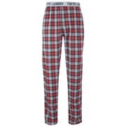 Tokyo Laundry Men's Half Moon Bay Check Loungepants - Samba Red